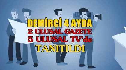 4 AYDA, 2 GAZETE VE 5 TV YAYINI